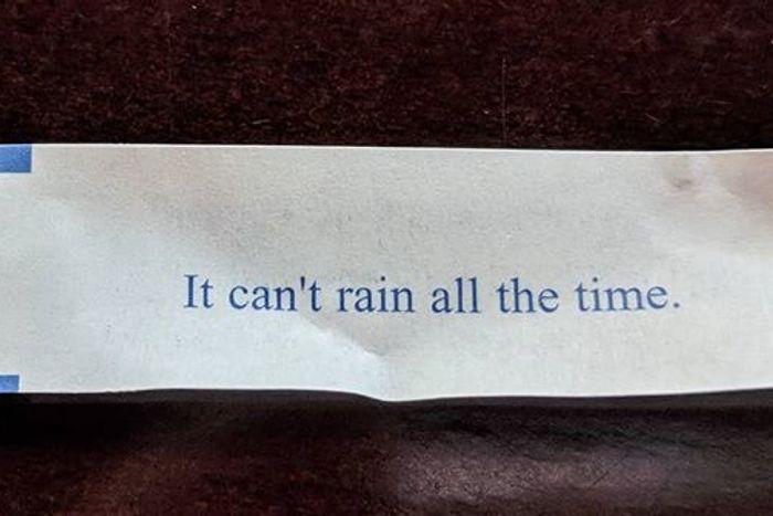 The cookie has spoken.